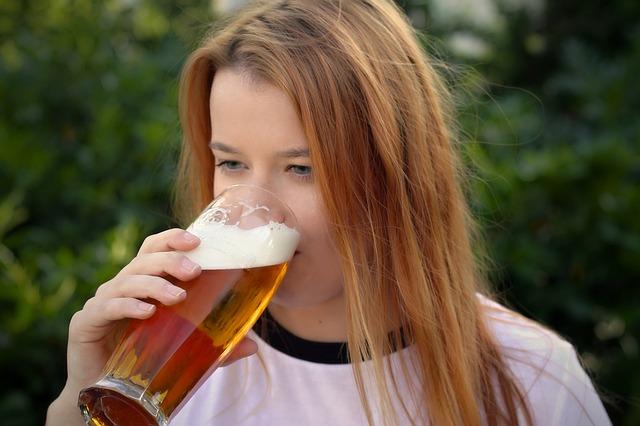 zrzka s pivem
