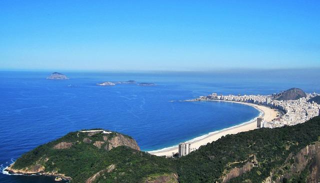 pláž v Riu