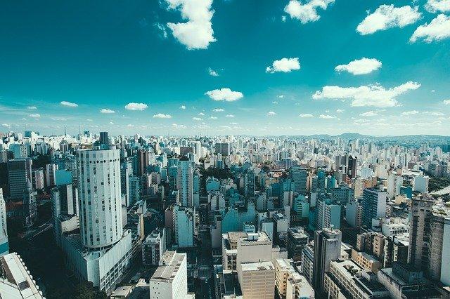 panoráma města v Brazílii