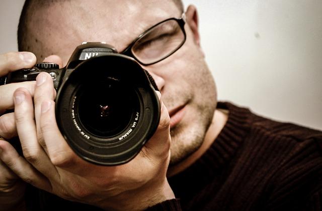 fotoaparát Nikon v akci