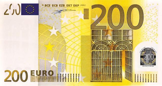 bankovka 200euro