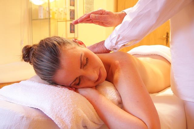 masáž ženy
