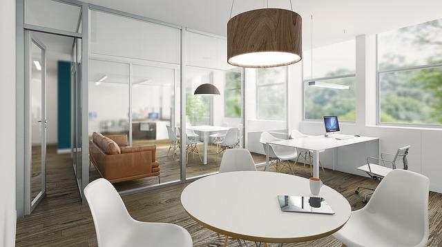 kulatý stůl kanceláře