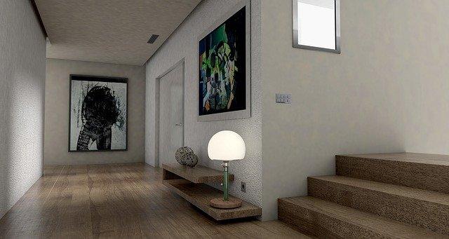 moderní útulný domov