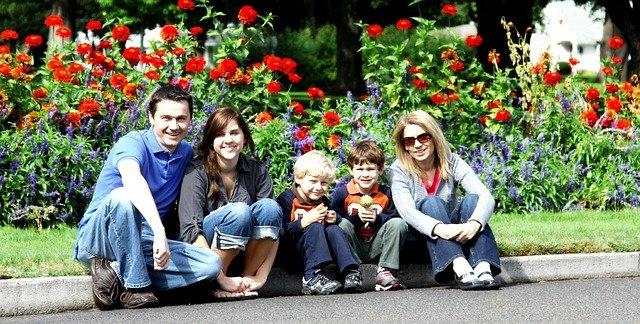 focení rodiny