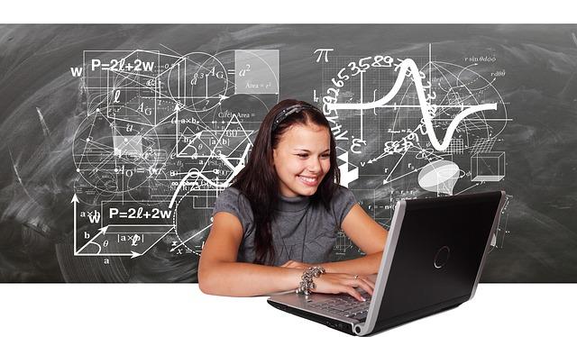 studentka fyziky